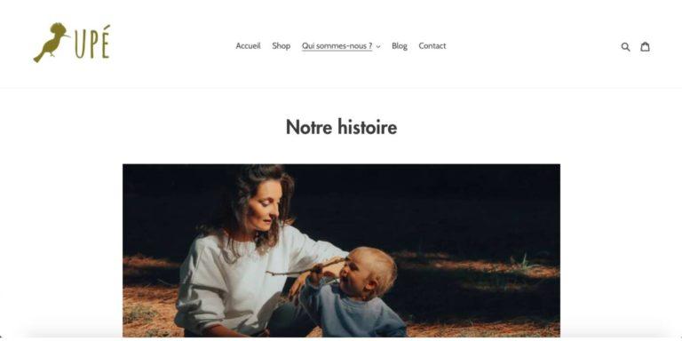 Page de Présentation - Site Entreprise